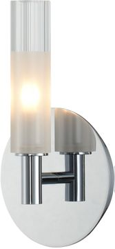 Kalco 509620CH Lorne Contemporary Chrome LED Wall Lighting Sconce