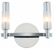 Kalco 509632CH Lorne Contemporary Chrome LED 2-Light Vanity Light