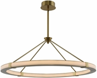 Kalco 509952WB Lavo Contemporary Winter Brass LED 39  Pendant Light