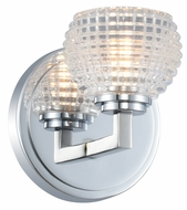 Kalco 510031CH Marina Contemporary Chrome LED Wall Lighting Fixture