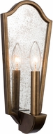 Kalco 510420PAB Aberdeen Pearlized Antique Brass Wall Sconce