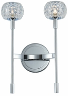 Kalco 511622CH Mae Contemporary Chrome LED Lamp Sconce