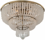 Kalco 511841BCG Esperanza Brushed Champagne Gold Ceiling Lighting