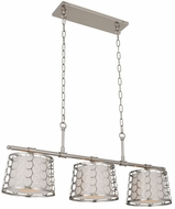 Kalco 511961PN Ariel Modern Polished Nickel Island Lighting