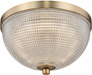 Kalco 512141WB Portland Modern Winter Brass LED 10  Ceiling Lighting Fixture
