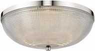 Kalco 512142PN Portland Modern Polished Nickel LED 16  Ceiling Light Fixture