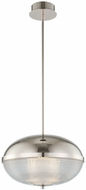 Kalco 512156PN Portland Modern Polished Nickel LED Pendant Light Fixture