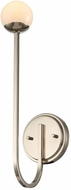 Kalco 512821PN Bistro Modern Polished Nickel LED Lighting Sconce