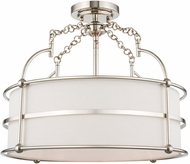 Kalco 513241PN Carson Polished Nickel Overhead Lighting