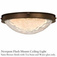 Kalco 5756sz Newport Flush Mount Ceiling Light