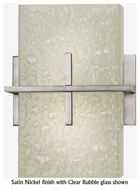 Kalco 6085 Stratus Satin Nickel Contemporary Wall Sconce