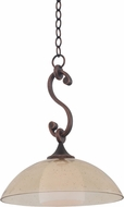 Kalco 6495 Arroyo Antique Copper Hanging Light Fixture