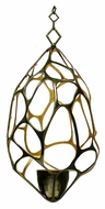 Kalco 6560 Wantage Bronze Finish Web 20 Inch Wide Contemporary Hanging Light