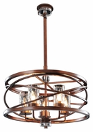 Kalco 6609 Eternity Large 24 Inch Diameter 5 Lamp Pendant Hanging Light