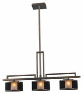 Kalco 6716 Stanley 3 Xenon Lamp Contemporary Island Lighting