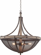 Kalco 7045 Coronado Florence Gold Pendant Lighting