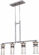 Kalco 7295 Anchorage Retro Rugged Iron Halogen Island Light Fixture