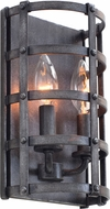 Kalco 7402 Townsend Traditional Vintage Iron Wall Lighting Sconce