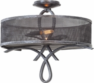 Kalco 7528 Delancy Vintage Iron Ceiling Light