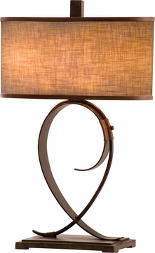 Kalco 898 Rodeo Drive Contemporary Table Lighting