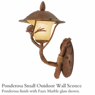 Kalco 9161 Ponderosa Small Outdoor Wall Sconce