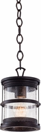Kalco 9566 Hemlock Traditional Antique Copper Outdoor Ceiling Pendant Light