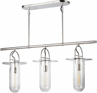 Kelly by Kelly Wearstler KC1023PN Nuance Contemporary Polished Nickel Island Lighting
