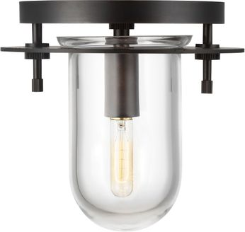 Kelly by Kelly Wearstler KF1041AI Nuance Contemporary Aged Iron Home Ceiling Lighting