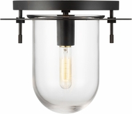Kelly by Kelly Wearstler KF1051AI Nuance Contemporary Aged Iron Overhead Lighting Fixture