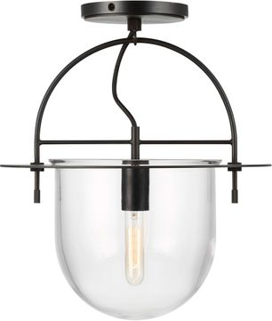 Kelly by Kelly Wearstler KF1071AI Nuance Modern Aged Iron Ceiling Lighting Fixture