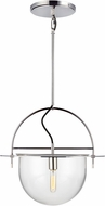 Kelly by Kelly Wearstler KP1031PN Nuance Modern Polished Nickel Pendant Lighting Fixture