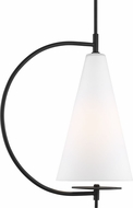 Kelly by Kelly Wearstler KP1041MBK Gesture Modern Midnight Black Mini Pendant Lighting Fixture