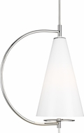 Kelly by Kelly Wearstler KP1041PN Gesture Contemporary Polished Nickel Mini Hanging Pendant Lighting