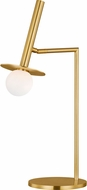 Kelly by Kelly Wearstler KT1001BBS2 Nodes Modern Burnished Brass Table Light