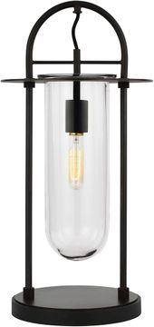 Kelly by Kelly Wearstler KT1021AI1 Nuance Contemporary Aged Iron Lighting Table Lamp