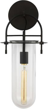 Kelly by Kelly Wearstler KW1051AI Nuance Modern Aged Iron Wall Sconce Lighting