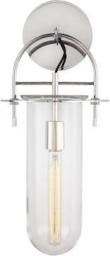 Kelly by Kelly Wearstler KW1051PN Nuance Contemporary Polished Nickel Wall Mounted Lamp