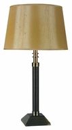 Kenroy Home 10012BRL Buckle Transitional Style 29 Inch Tall Living Room Table Lamp