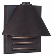 Kenroy Home 10160COP Fairbanks Copper 9 Inch Tall Small Outdoor Wall Light Fixture