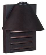 Kenroy Home 10161COP Fairbanks 13 Inch Tall Large Copper Finish Exterior Wall Sconce