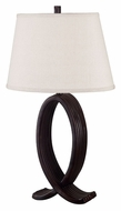 Kenroy Home 20134ORB Nemeaux Oil Rubbed Bronze Finish 30 Inch Tall Transitional Bedroom Table Lamp