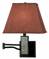 Kenroy Home 20382SL Dakota Contemporary Swing Arm Lamp