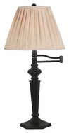 Kenroy Home 20611ORB Chesapeake Swing Arm Oil Rubbed Bronze Table Lamp - 32 Inches Tall