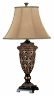 Kenroy Home 20637GLBR Sophie Traditional 35 Inch Tall Table Top lamp - Golden Bronze