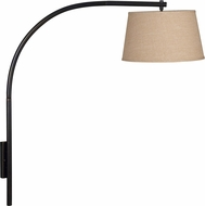 Kenroy Home 20951ORB Sweep Oil Rubbed Bronze Wall Swing Arm Lamp