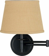 Kenroy Home 21011ORB Sheppard Oil Rubbed Bronze Wall Swing Arm Light