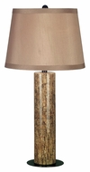 Kenroy Home 21048MAR Russo Marble Finish 30 Inch Tall Table Top Lamp