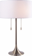 Kenroy Home 21404AB Stowe Antique Brass Table Light