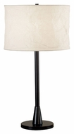 Kenroy Home 21446ORB Rush 30 Inch Tall Oil Rubbed Bronze Bed Lamp