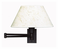 Kenroy Home 30110BRZ Simplicity Bronze Finish 13 Inch Tall Swing Arm Wall Lighting
